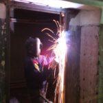 демонтаж металлической двери
