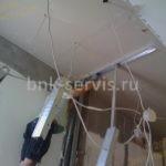 Демонтаж электропроводки