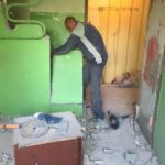 Демонтаж отопления