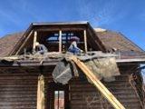 Демонтаж крыши в Стрельне