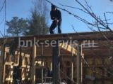 Снос старого деревянного дома в Сестрорецке